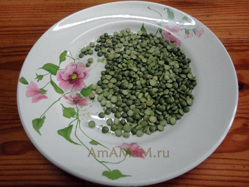 Рецепт горохового пюре - быстро и вкусно
