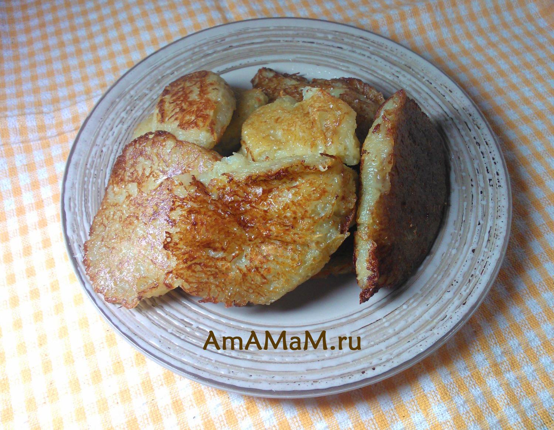 Рецепт драников из картошки без яйца пошагово в