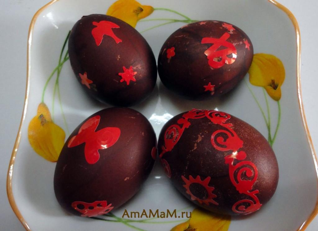 Красивые пасхальные картинки - яйца