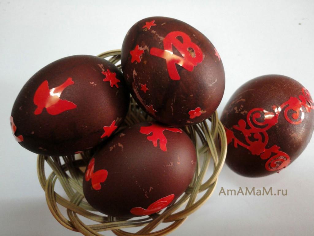 Чем красить яйца - рецепты и советы