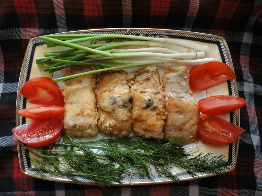 блюда из рыбы голец рецепты с фото