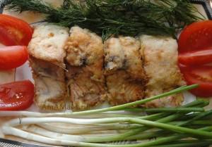 Как приготовить гольца - рецепт  жареной рыбы