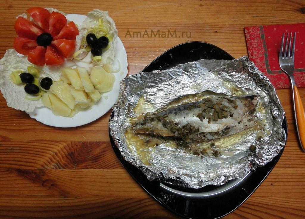 Как вкусно приготовить скумбрию - рецепт и фото