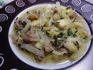 Приготовление свиных ножек