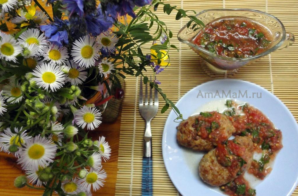 Рецепт простого соуса из помидоров