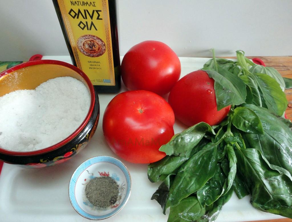 Как готовят холодный томатный соус - рецепт и фото