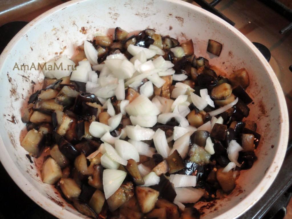 Баклажаны жареные с яйцом рецепты с фото