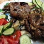 Рецепты из бараньих ребрышек - ждреные ребра, тушеные в вине