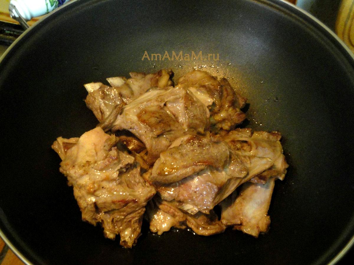 Ребрышки свиные с картошкой в мультиварке редмонд рецепты с пошагово