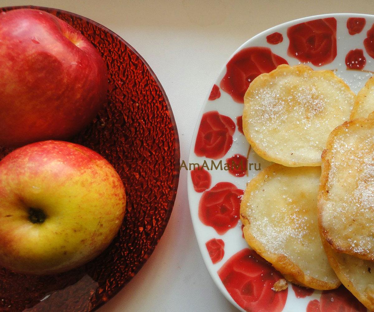 Как испечь блины с яблоками: самые вкусные рецепты
