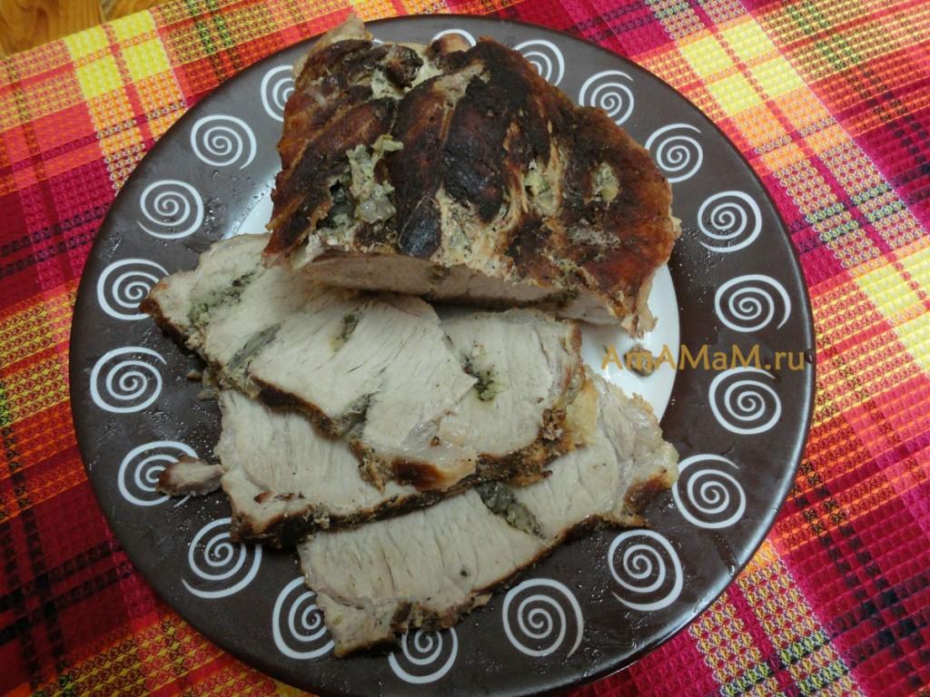 блюда из буженины рецепты с фото