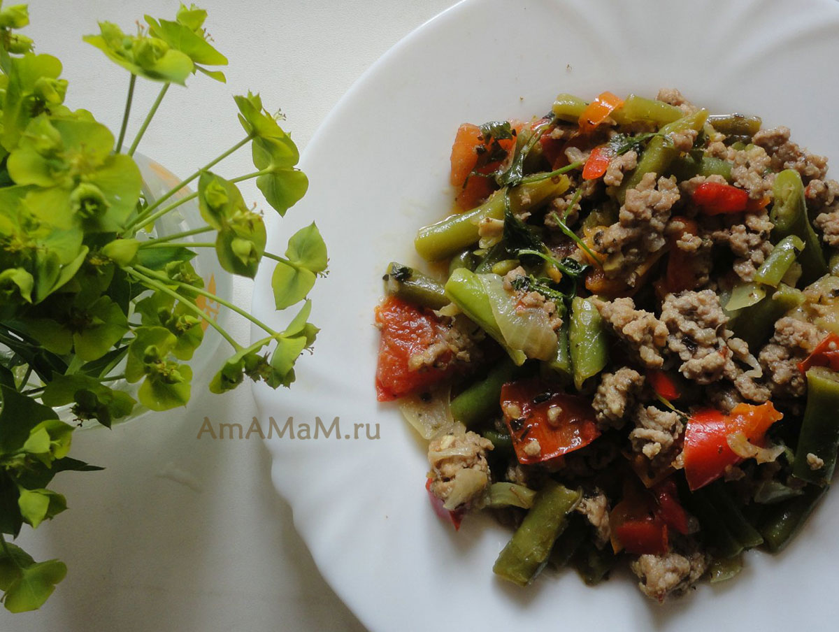 рецепты вторых блюд с фото простые и вкусные с фаршем
