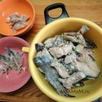 Рыбный суп из плавников, костей и голов