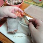Пошаговые фото приготовлени ямалосольной рыбы в домашних условиях