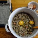 Рецепт мясной запеканки с грибами и гречневой кашей