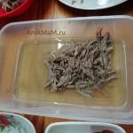 Пошаговые фото приготовлени холодца из утиных шей