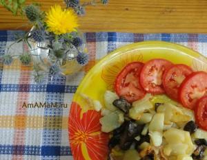 Что приготовить из свинухов - рецепт жареной картошки