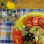 Свинухи с картошкой (жареные)