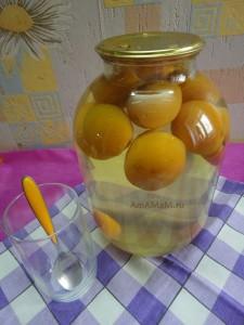 Консервирование компотов - компот из абрикосов
