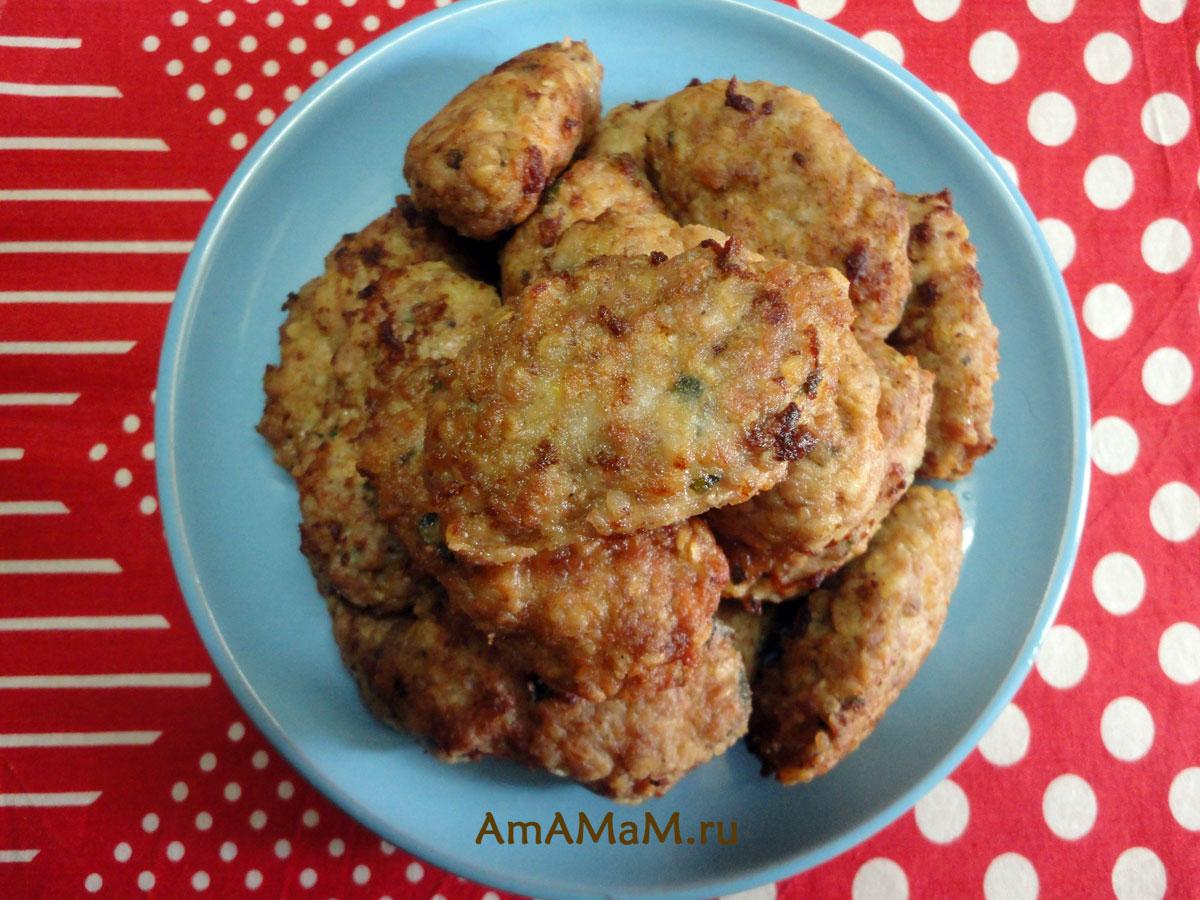 Куриные котлеты из фарша в духовке пошаговый рецепт с
