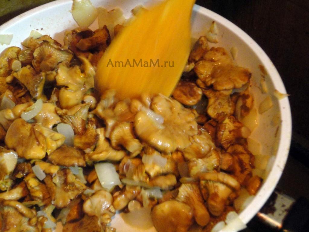 лисички в сметане рецепт с фото пошагово