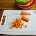 Как правильно нарезать морковку кубиками для борща и свекольника