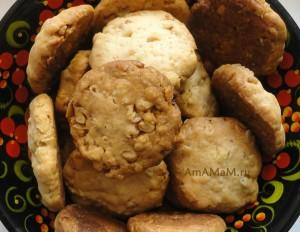 Вкусное овсяное печенье с орехами - рецепт