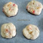 Приготовление песочного овсяного печенья с цукатами - рецепт с фото