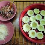 Что нужно для приготовления патиссонов в духовке с начинкой