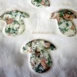 Чем украсить грибной пирог - идеи, фото