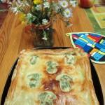 Приготовление пирогов со слоеным тестом (замороженным) - рецепт пирога из лисичек