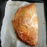 Вкусный и простой пирог на скорую руку, начинка из помидоров с сыром