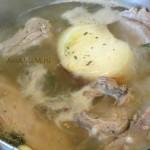 Вареные свиные ребрышки для запекания в соусе в духовке