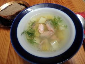 Рыбный суп из обрезков рыбы - просто, вкусно, недорого!