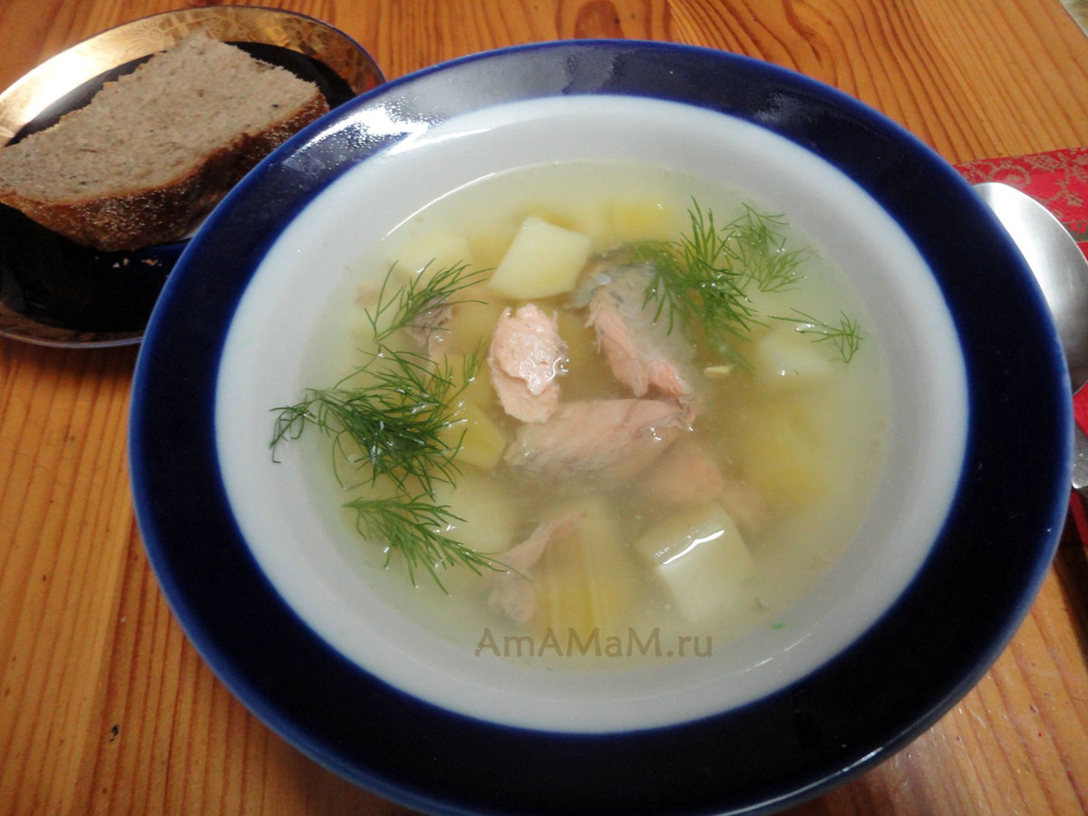 Суп из скумбрии рецепты простые и вкусные рецепты