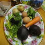 Ингредиенты для холодного свекольника и рецепт супа