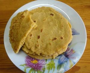 Тортилья из пшеничной и кукурузной муки
