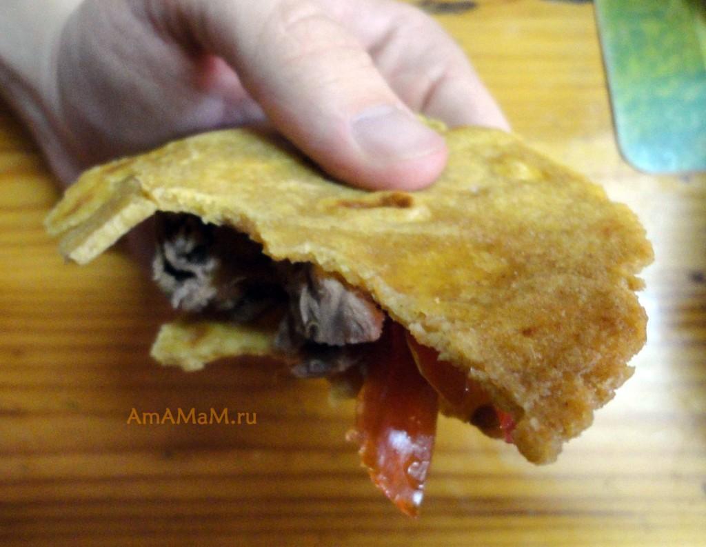 Рецепт кукурузных тортильяс - МК по приготовлению мексиканских лепешек