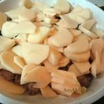 Как сделать картошку со свининой - рецепт с фото