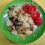 Недорогое блюдо из свинины - рецепт