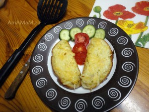 Как делают жареные бутерброды - рецепт