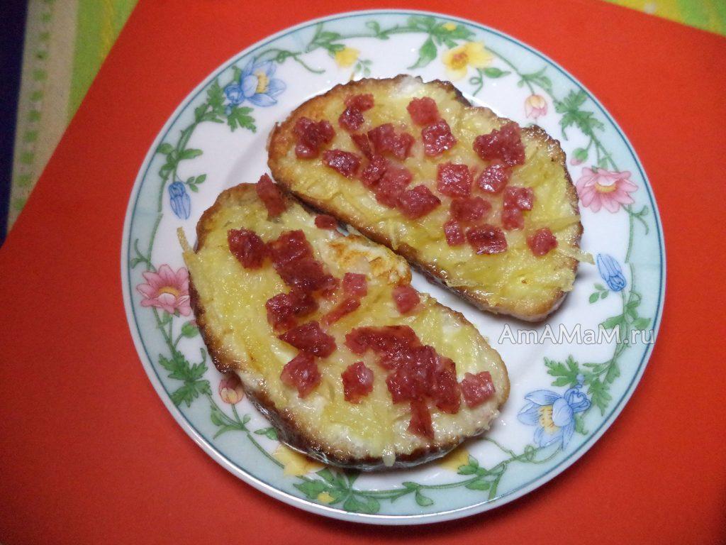 Способ приготовление бутербродов, жареных с обеих сторон