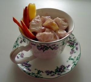 Приготовление салатов из фруктов- рецепты с фото