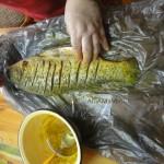Как маринуют рыбу для запекания в духовке - рецепт и фото