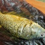Этапы приготовления речной рыбы в духовке
