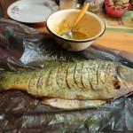 В чем мариновать большую рыбу - рецепт и фото