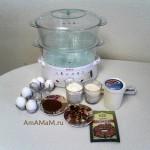 Как делается торт в пароварке - рецепт и пошаговые фото (МК)