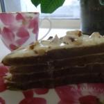 Рецепт кофейного пирога для пароварки и духовки, простой крем