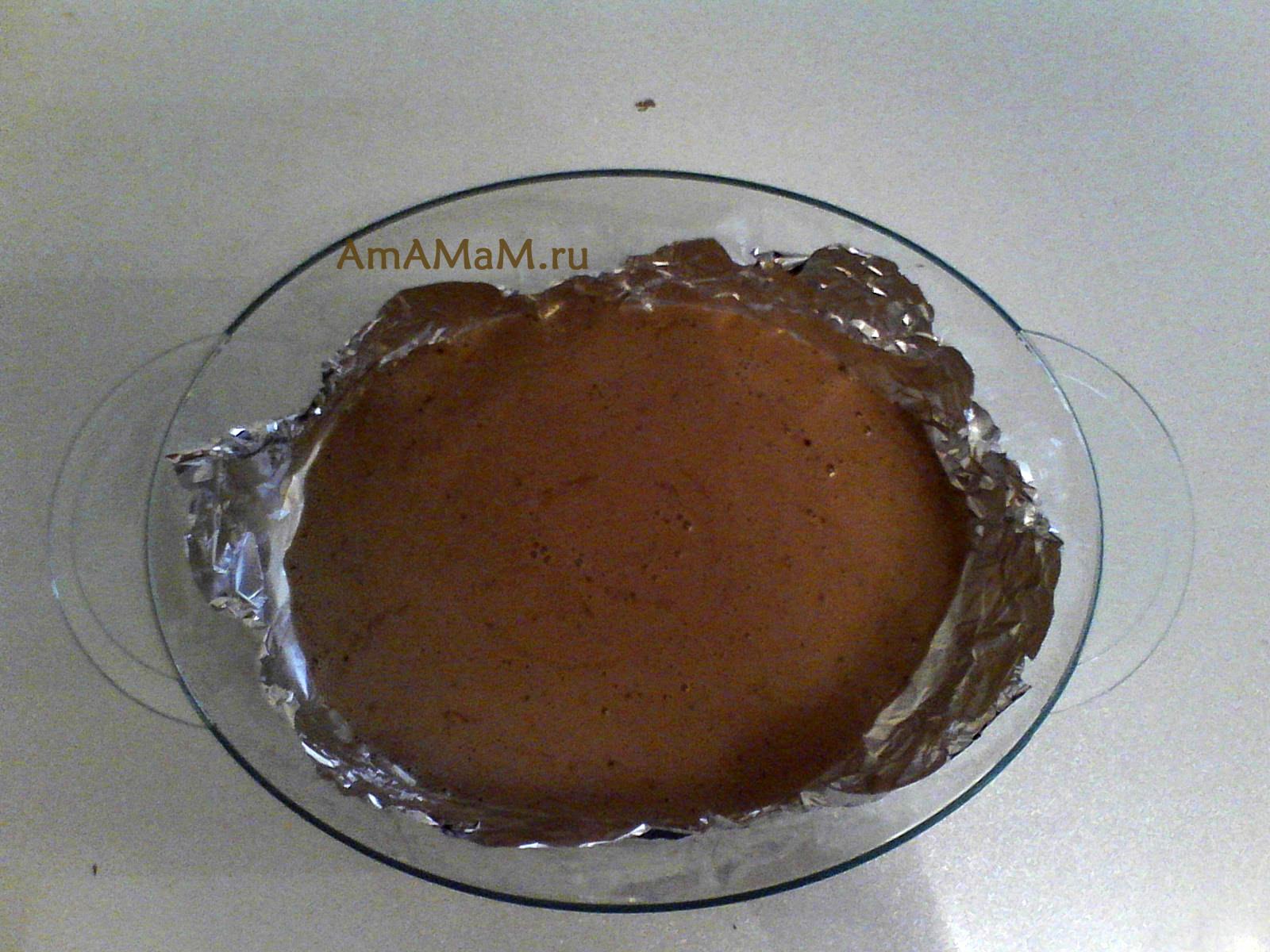 Рецепты в пароварке торт