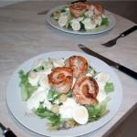 Рецепты салатов с солосем